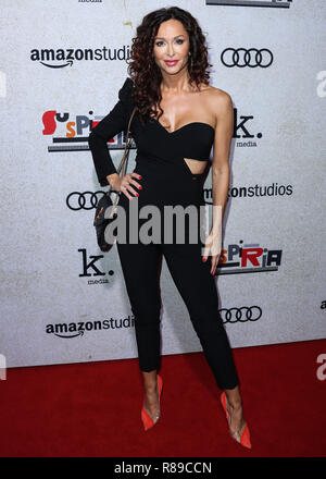 HOLLYWOOD, Los Angeles, CA, USA - 24. Oktober: Sofia Milos am Los Angeles Premiere von Amazon's Studio uspiria' am ArcLight Cinerama Dome am 24. Oktober 2018 in Hollywood, Los Angeles, Kalifornien, USA. (Foto von Xavier Collin/Image Press Agency) - Stockfoto