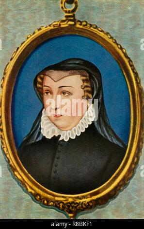 """""""Katharina von Medici"""" (1933). Schöpfer: Unbekannt. - Stockfoto"""