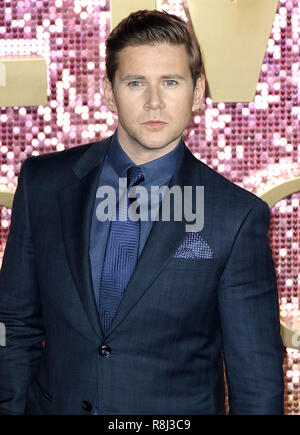Oct 23, 2018 - Allen Leech, Bohemian Rhapsody Weltpremiere, SSE, Wembley Arena in London, Großbritannien - Stockfoto