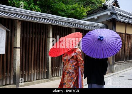 Japan, Honshu Island, Region Kansai, Kyoto, Kyoto, Masuyacho - Stockfoto