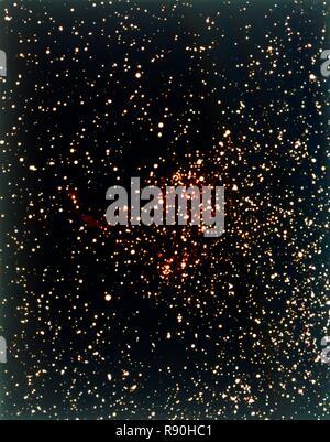 Nebel im Sternbild Schwan. Cygnus ist eine Konstellation liegen auf der Ebene der Milchstraße, seinen Namen aus der Lateinische griechische Wort für Schwan. - Stockfoto