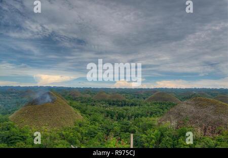 Chocolate Hills - Stockfoto