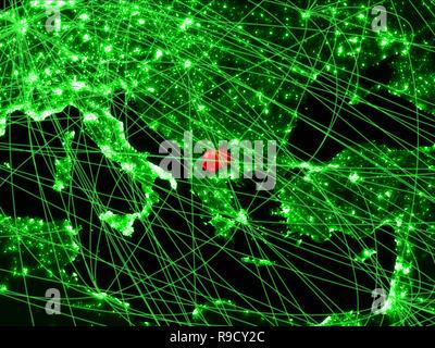 Grüne Karte Mazedonien.Grün Mazedonien Karte Stockfoto Bild 61223360 Alamy