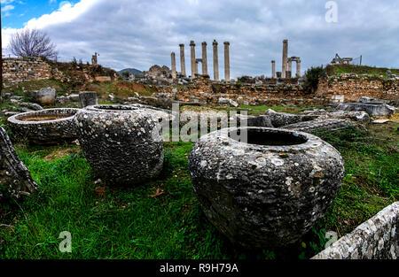 Aphrodite's Heilige Stadt ist heute ein Weltkulturerbe... - Stockfoto