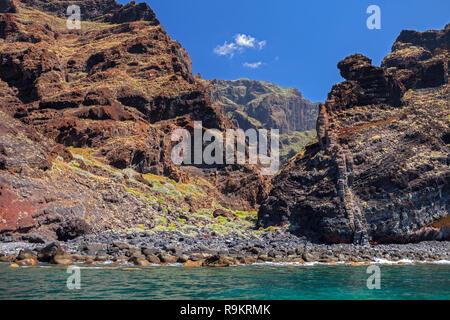 Teneriffa - Klippen von Los Gigantes, Kanarische Inseln, Spanien - Stockfoto