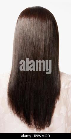 Schöne Lockige Lange Brünette Haare Marokkanerin Mit