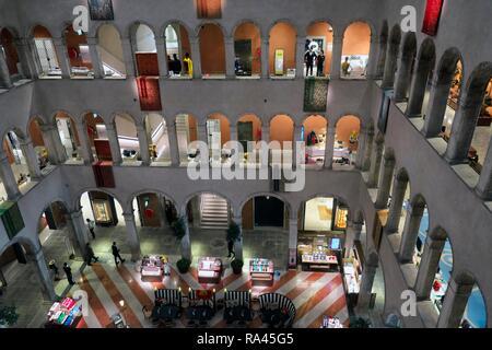 Kaufhaus Fondaco dei Tedeschi, Venedig, Venetien, Italien - Stockfoto