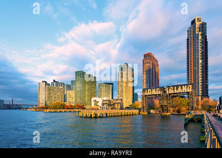 Long Island City, Queens, New York City, New York City Stockfoto