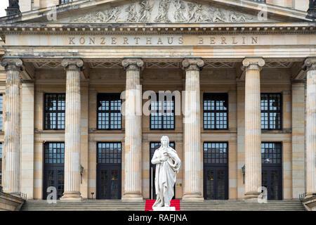 Außenseite des Konzertsaals Konzerthaus am Gendarmenmarkt in Berlin, Deutschland - Stockfoto