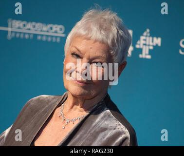 21. British Independent Film Awards, an Old Billingsgate in London statt. Mit: Dame Judi Dench, Wo: London, Vereinigtes Königreich, wenn: 02 Dez 2018 Credit: WENN.com - Stockfoto
