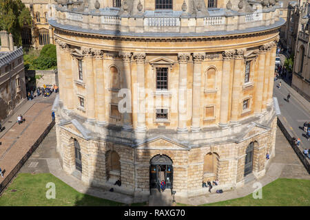 Die Radcliffe Camera in Oxford, England. - Stockfoto