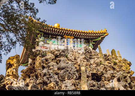 Alte königliche Paläste der Verbotenen Stadt in Peking, China