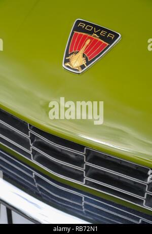 1976 Rover 3500 S-Schaltgetriebe V8 Rover P6 1977 Nach dem Ende der Produktion registriert - Stockfoto