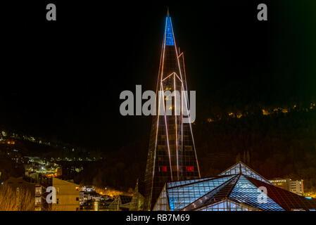Andorra, Escaldes - Engordany - 06.01.2019, Caldea Thermal Komplex, Caldea Wellness Thermal Komplex.