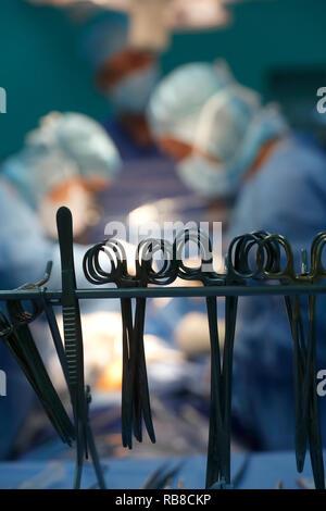 Tam Duc Kardiologie Krankenhaus. Op. Der herzchirurgie. Ho Chi Minh City. Vietnam. - Stockfoto