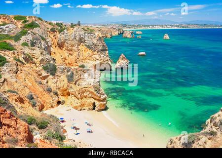 Camilo Strand, Lagos, Algarve, Portugal, - Stockfoto