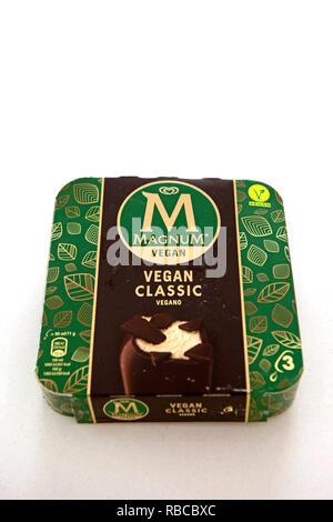 Magnum Vegan freundlich Eis - Stockfoto