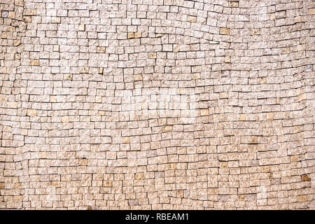 Mosaik Wand. Mosaik Fliese Hintergrund. Mosaik Oberfläche im antiken Stil. - Stockfoto