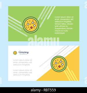 Bakterien auf Platte abstract corporate business banner Vorlage, horizontale Werbung Banner. - Stockfoto