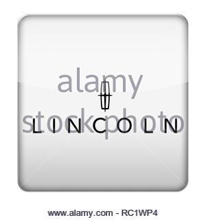 Lincoln Auto logo - Stockfoto