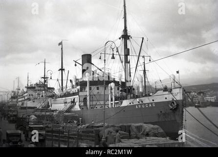 Deutsches Reich Frucht- und Passagierschiff Arucas - Stockfoto