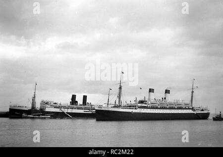 Deutsches Reich Passagierschiff der Monte-Klasse - Monte Pascoal - Stockfoto
