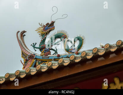 Carving Details zum Süden oder nanputuo Tempel Putuo in Xiamen. - Stockfoto