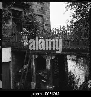 Irland Brücke, Bingley, Bradford, West Yorkshire, 1966-1974. Schöpfer: Eileen Deste. - Stockfoto