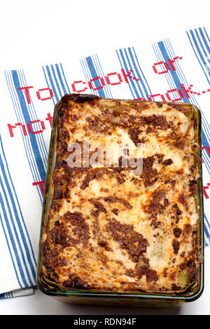 Pasticcio mit Lasagne - Stockfoto
