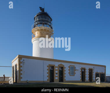 Landschaftlich Point Lighthouse, Isle Of Skye, Schottland - Stockfoto