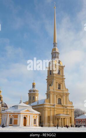 Die heiligen Peter und Paul Kathedrale, St. Petersburg, Russland. - Stockfoto