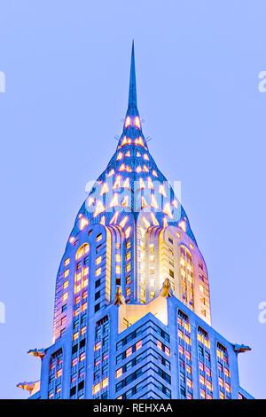 Chrysler Building in New York City - Stockfoto