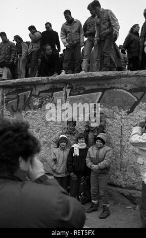 Fall der Berliner Mauer, Berlin - Stockfoto