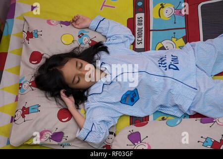 7.12, Schlafanzüge Kid, IndonesianBook - Stockfoto