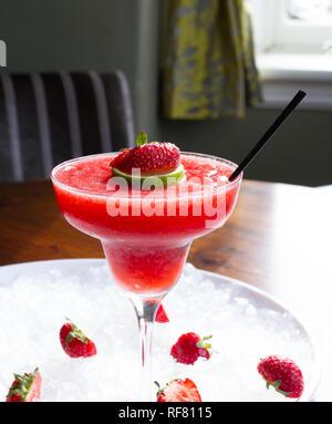 Erdbeer-Daiquiri - Stockfoto