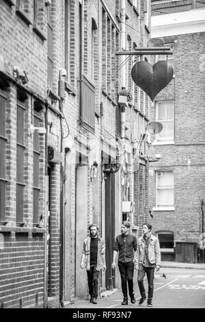 London, England, 13, September 2017, UK Band in Camden. - Stockfoto