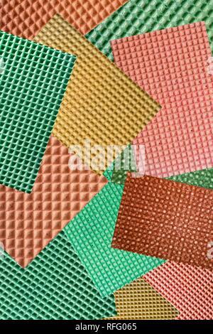 Abstrakte Collage Bilder von Essen Waffeln - Stockfoto