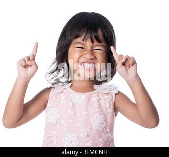 Asiatische Junge aufgeregt - Stockfoto