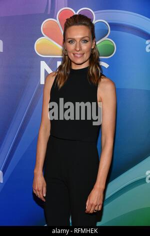 Michaela McManus nimmt an der NBC New York Mitte der Saison drücken Sie Quark im Four Seasons Hotel New York am Januar 24, 2019 in New York City. - Stockfoto