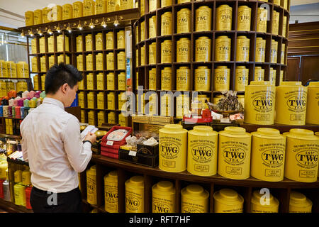 TWG Tee Shop, ION Orchard, Centre commercial, Orchard Road, Singapur, Südostasien, Asien - Stockfoto