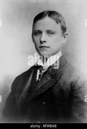 Charles Martin Hall, 22 Jahre alt, circa 1885..jpg-RFWB 4B - Stockfoto