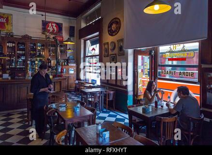 """Bar'El Hipopotamus Hipopotamo"""" (Cafe). San Telmo, Buenos Aires, Argentinien. - Stockfoto"""