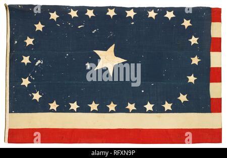 25-STERNE AMERICAN NATIONAL FLAGGE ZUM GEDENKEN AN ARKANSAS STAATLICHKEIT am 15. Juni 1836, ca. 1836.jpg-RFXN 9 P - Stockfoto