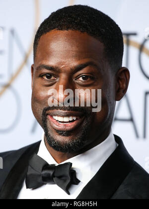 Los Angeles, Kalifornien, USA. 27. Januar 2019. Schauspieler Sterling K. Braun stellt in der Presse Zimmer auf der 25. jährlichen Screen Actors Guild Awards im Shrine Auditorium am 27. Januar 2019 in Los Angeles, Kalifornien, USA. (Foto von Xavier Collin/Image Press Agency) Quelle: Bild Presse Agentur/Alamy leben Nachrichten - Stockfoto