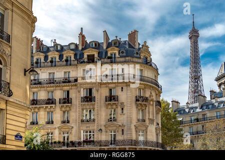 Eiffelturm - Stockfoto