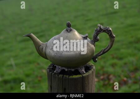 Alladyn, Lampe, Wasserkocher - Stockfoto