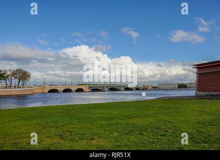 Peter und Paul Festung auf Hase Insel in St. Petersburg. - Stockfoto