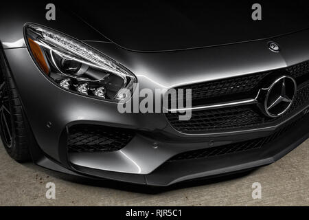 2016 Mercedes AMG-GTS - Stockfoto