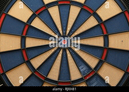 Dart Boards in realistischem Stil. Classic Darts Board. Spielkonzept. - Stockfoto
