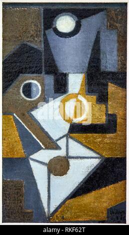 ''' Die Envelope'', 1918, Juan Gris, Museum für Katalanische Kunst Museu Nacional d Art de Catalunya, MNAC, Barcelona, Spanien, Europa - Stockfoto